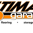 The Ultimate Garage Logo. Designed to give a nod to designs on classic 70's muscle cars. (www.ultimategarage.ca)